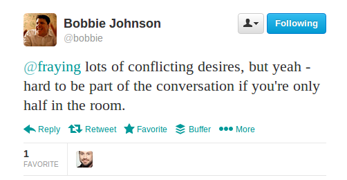 Bobbie Johnson tweet1