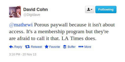Cohn tweet