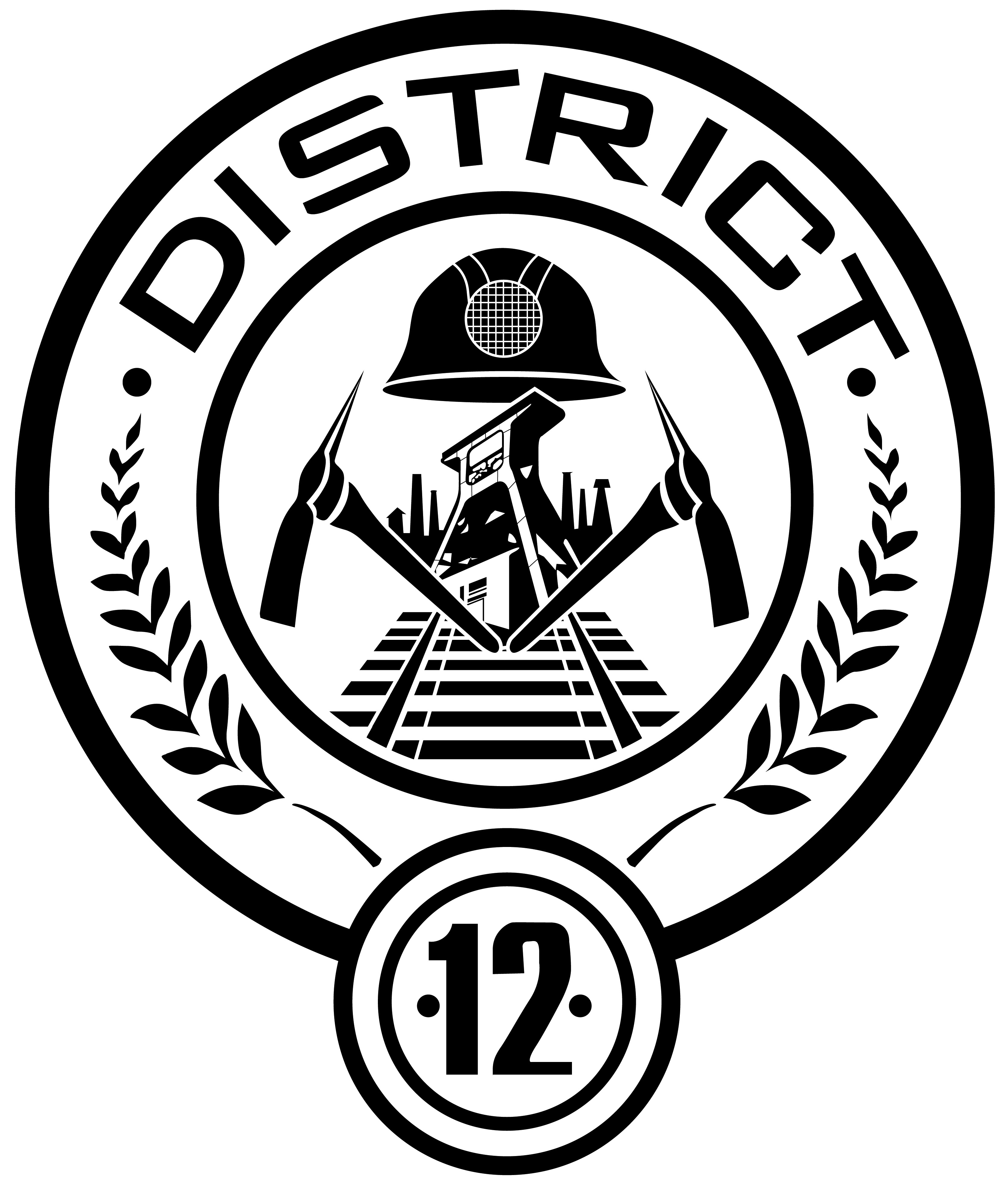 Hunger Games District 12 badge