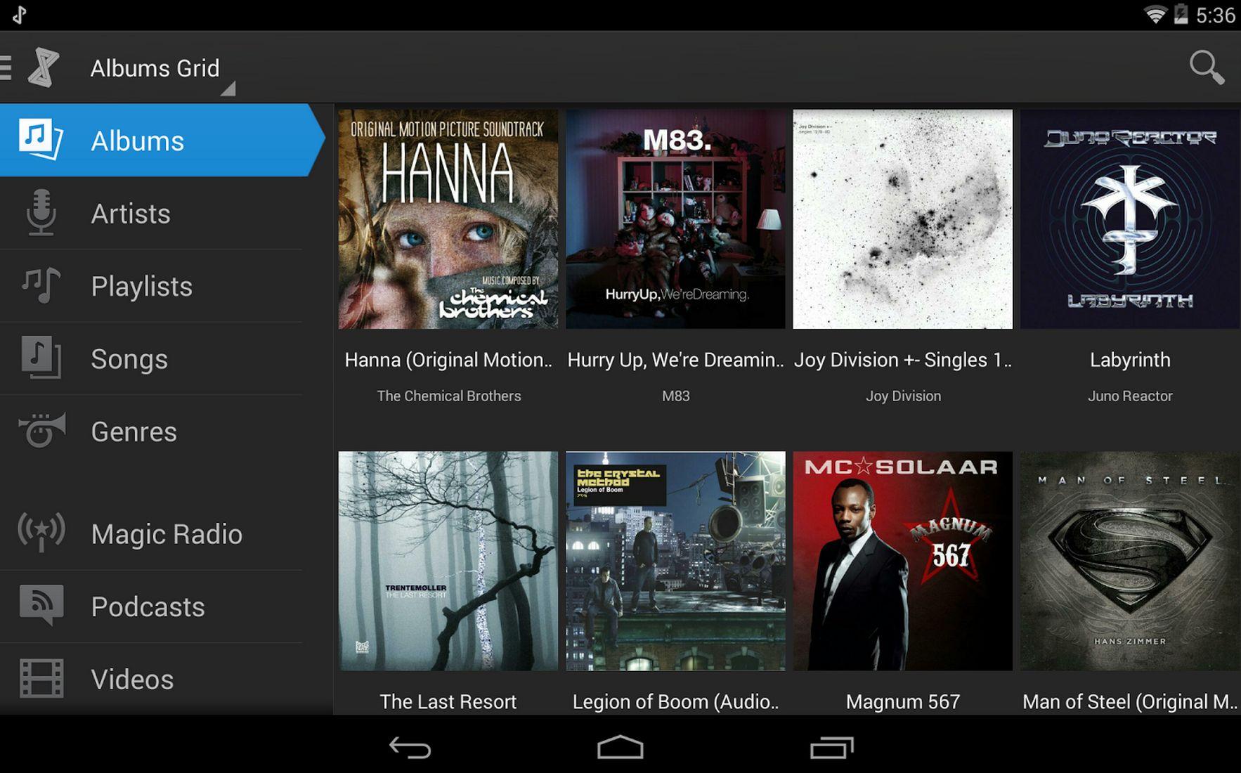 doubletwist tablet albums