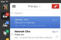 Gmail for iOS on iPad