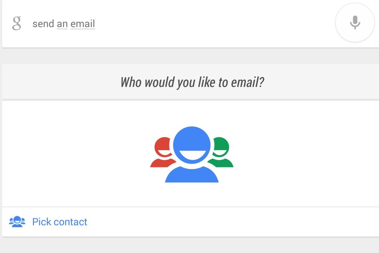 google now conversation