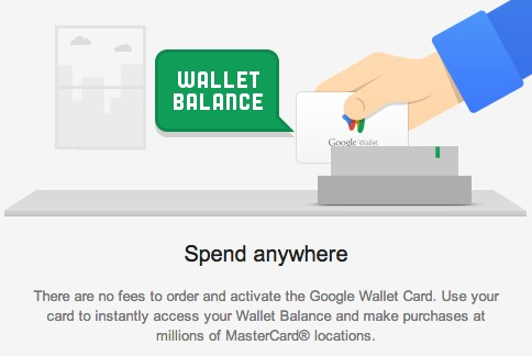 Link your bank account to Google wallet card
