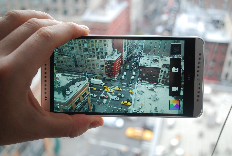 HTC One Mac camera