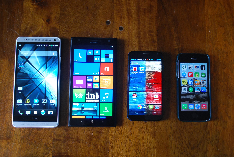 HTC One Max size comparison