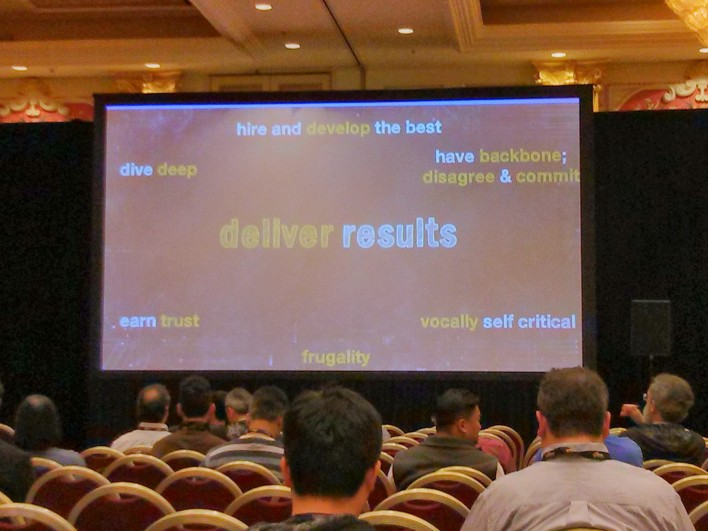 The attributes associated with delivering results.