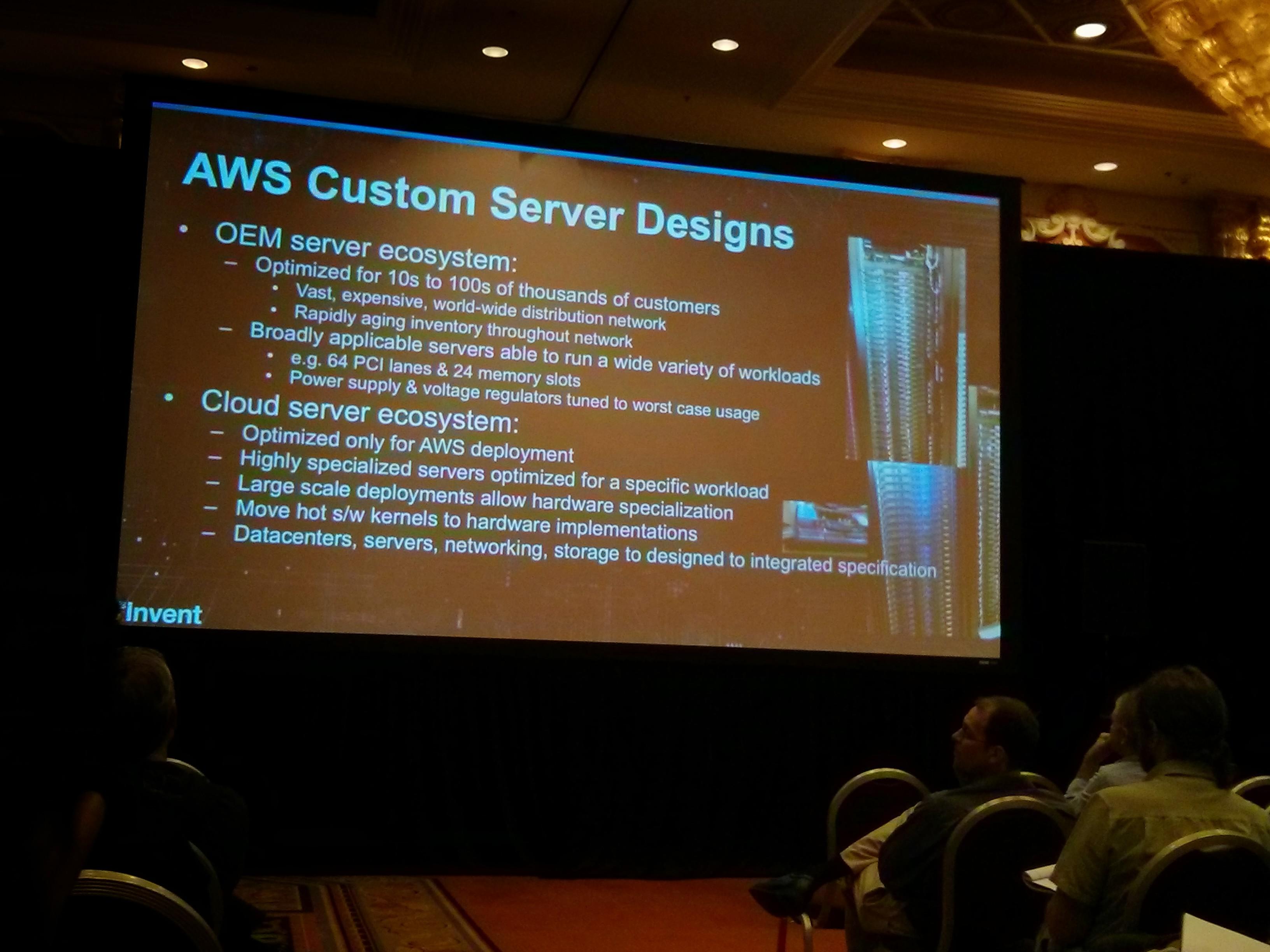 amazon server design