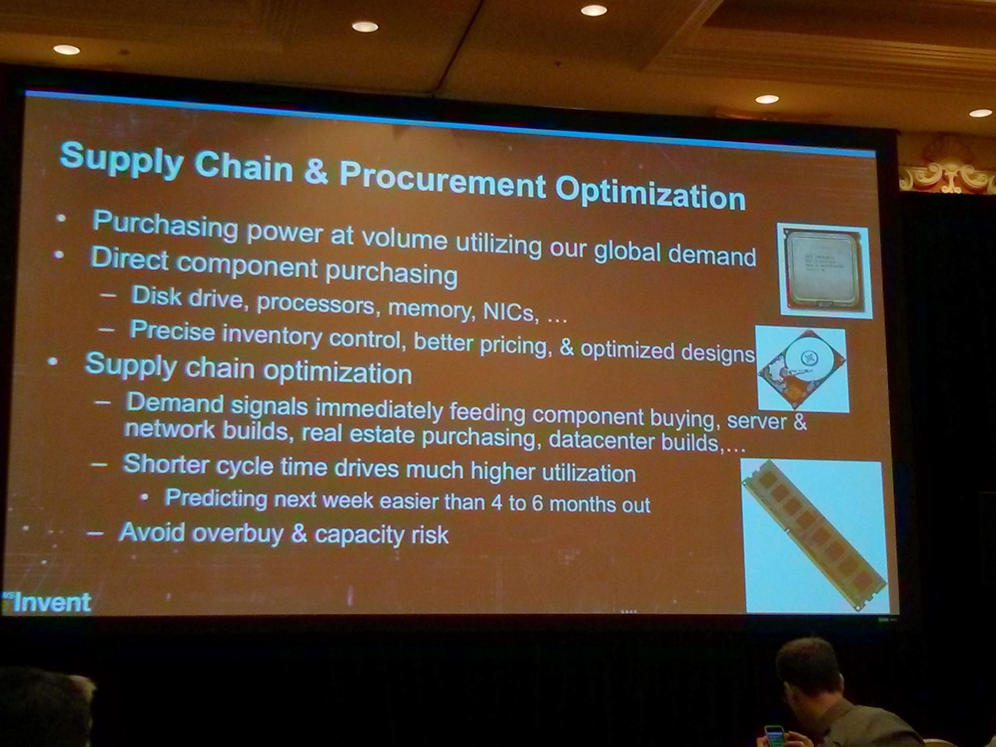 For when demand starts adding up, tracks and automates its supply chain.