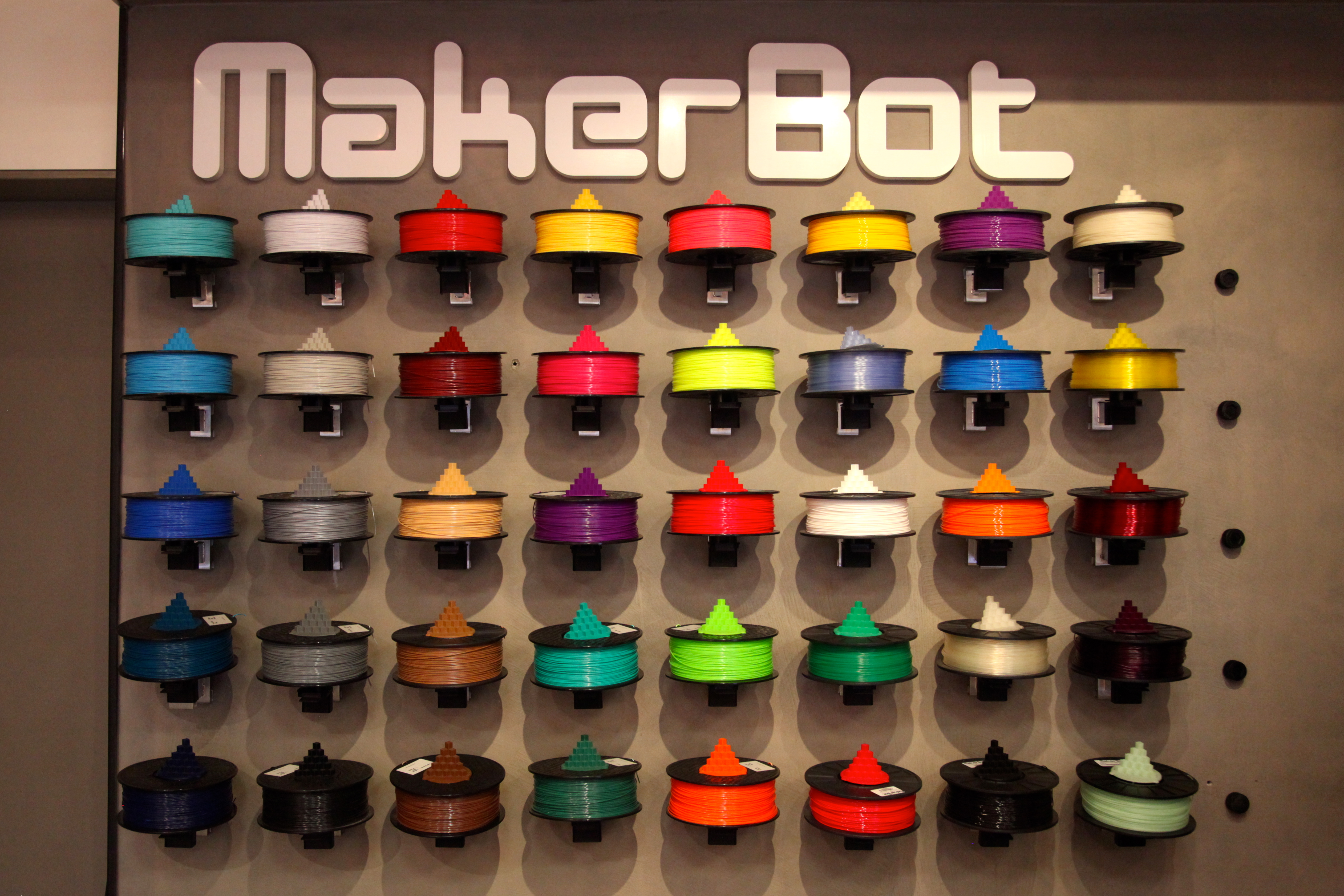 MakerBot store filament