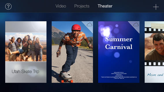 iMovie Theater iOS