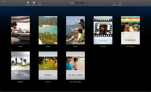 iMovie Theater OS X