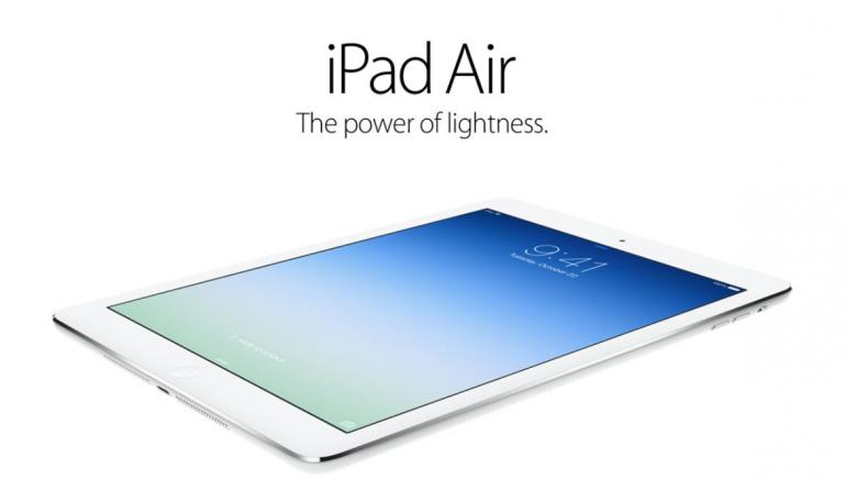 ipad air lightness