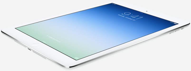 ipad air wide