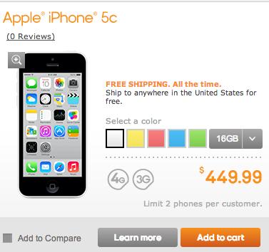 iPhone 5c Boost