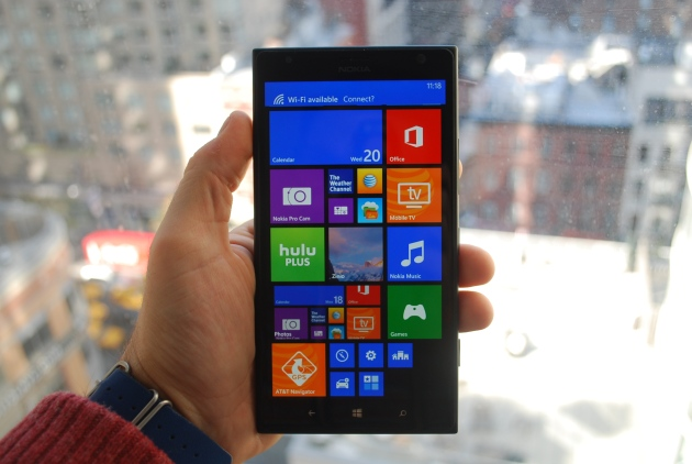 Lumia 1520 hands on