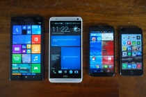 Lumia 1520 size comparison