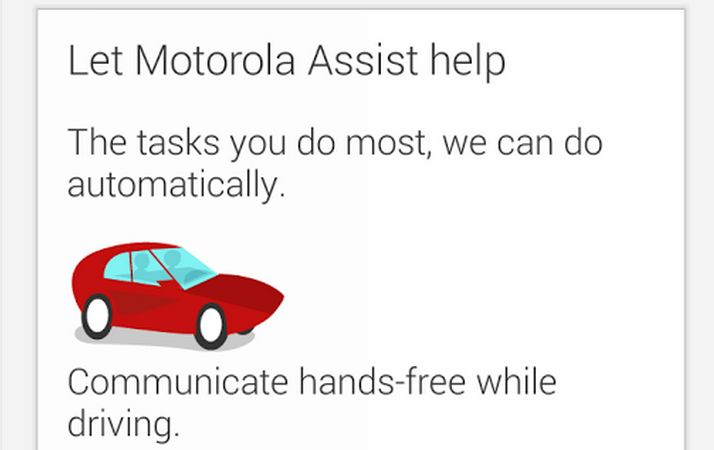 Moto Assist featured