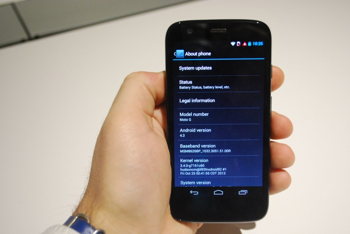 Moto G Android 4.3