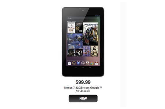 Nexus 7 GameStop