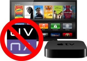 No UltraViolet on Apple TV
