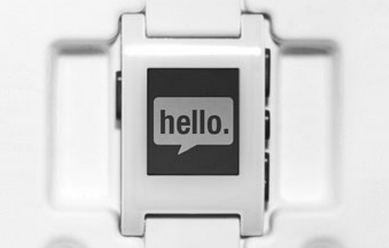 pebble hello