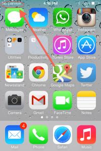 no service iPhone