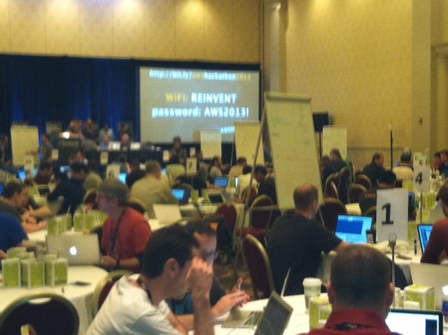 AWS Re:Invent 2013 hackathon