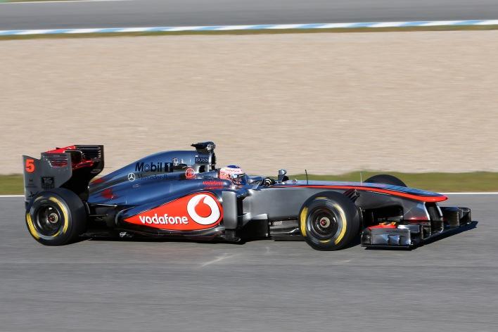 McLaren F-1 car