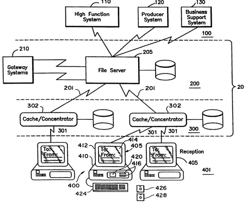 IBM patent screenshot
