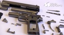 Solid Concepts 3D printed metal gun