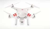 The Phantom 2 Vision quadcopter. Photo courtesy of DJI