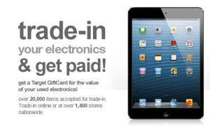 Target iPad trade in