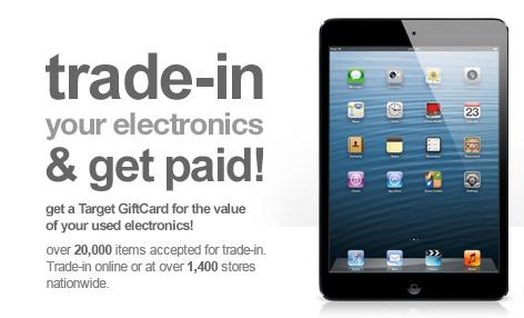 Target iPad trade in