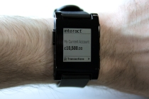 The world's first smartwatch bank from Intelligent Environments