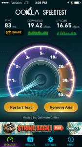 Verizon also had a surprisingly strong showing.