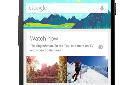 what to watch google now