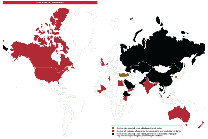 WWWF censorship and surveillance