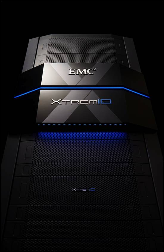 EMC XtremIO Beauty2 flash storagye