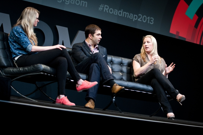 Moderated by: Katie Fehrenbacher — Senior Writer, Gigaom Speakers: Mladen Barbaric — Founder and CEO, Pearl Studios Danae Ringelmann — Founder and Chief Customer Officer, Indiegogo