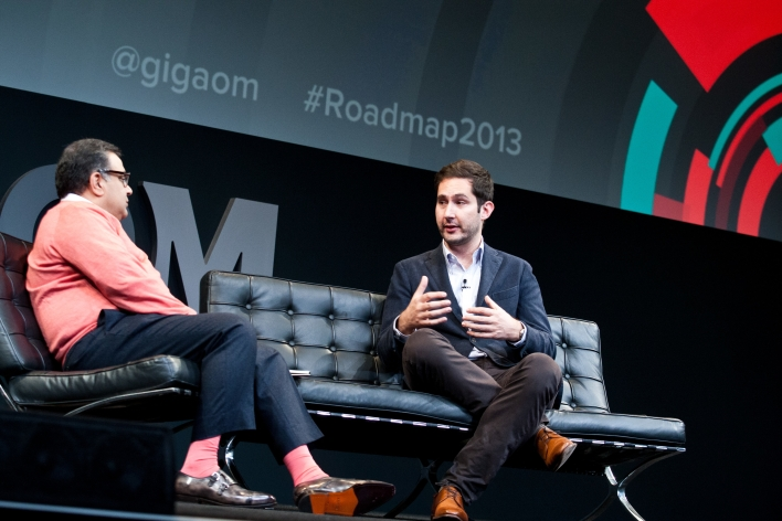 Moderated by: Om Malik — Founder, Gigaom Speaker: Kevin Systrom — Co-Founder and CEO, Instagram