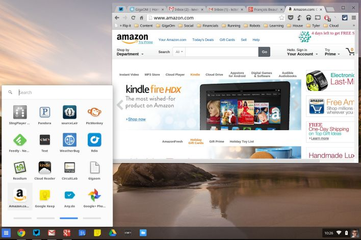 Amazon hosted app