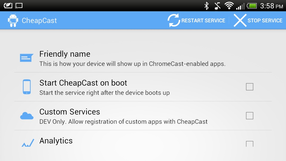 Cheapcast can turn your old Android phone into a cast-compatible music player.
