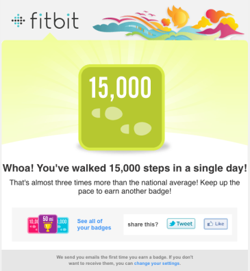 Fitbit Force email