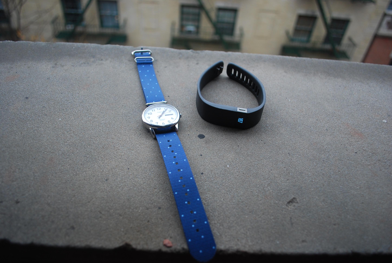 Fitbit Force vs watch