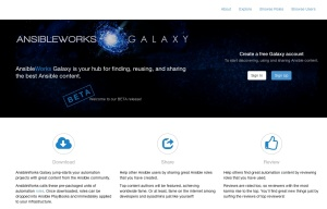 AnsibleWorks galaxy