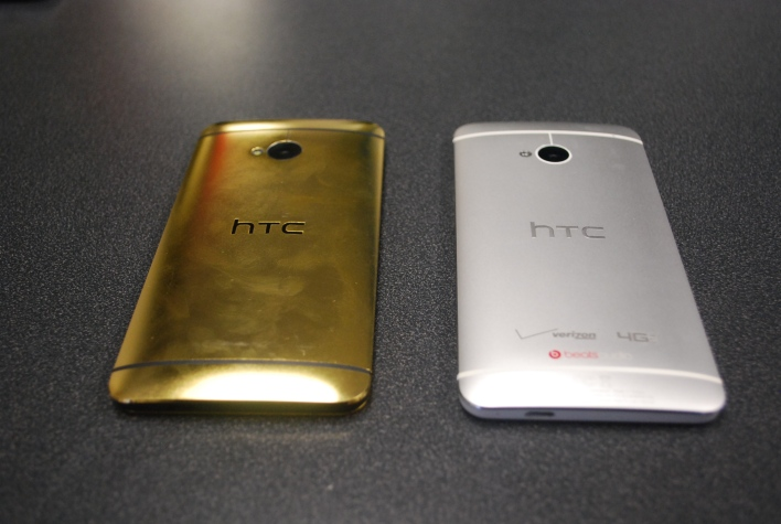 Gold vs Silver HTC One