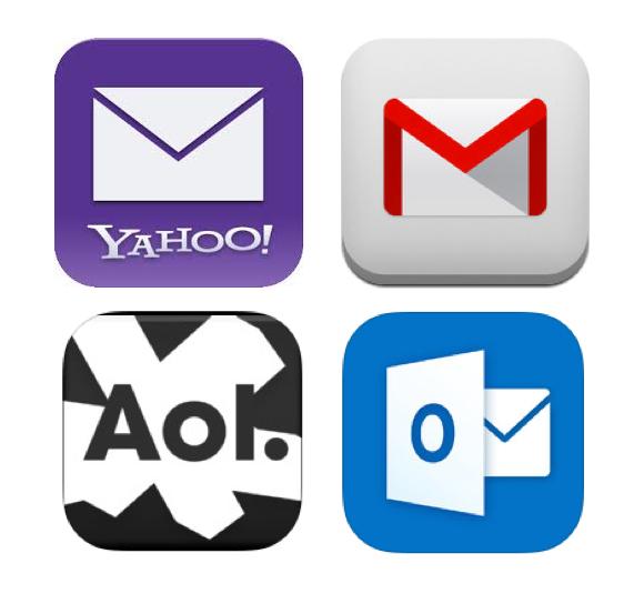 Google Yahoo Microsoft AOL