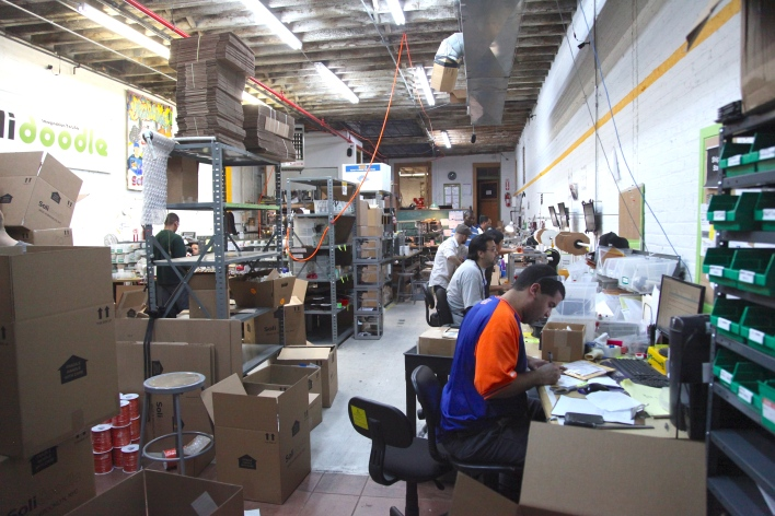 Solidoodle 3D printer factory