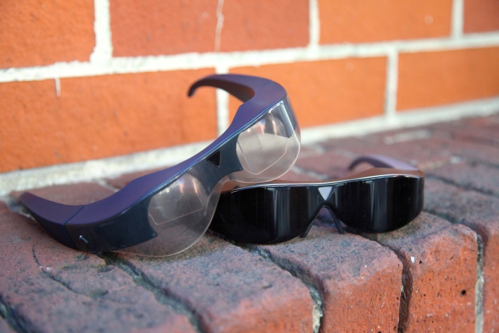 At $350, the Atheer One glasses are a low-cost option to enter augmented reality