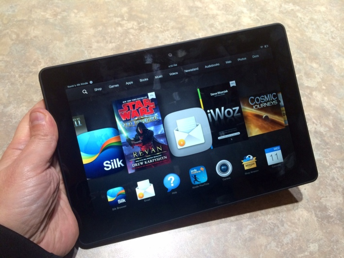 Waiter, do you accept Kindle? Amazon reportedly weighing in-store payments service